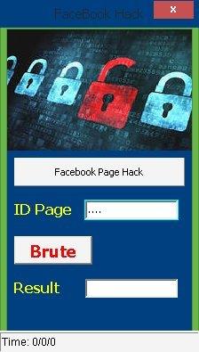 взломать страницу facebook