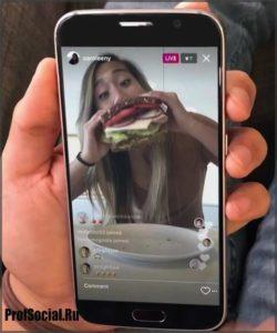 видео инстаграм