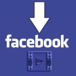скачивание видео с facebook